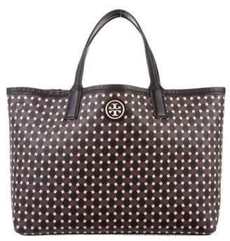 Tory Burch Printed Leather Satchel