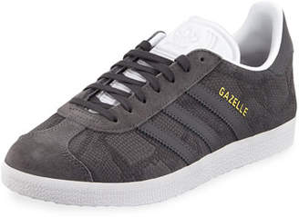adidas Gazelle Leather Lace-Up Sneakers