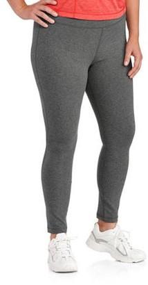 Danskin Women's Plus Size Dri More Core Legging