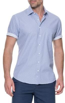 Rodd & Gunn Prosford Sports Fit Fish Print Sport Shirt