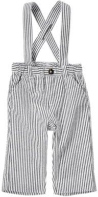 Crazy 8 Stripe Seersucker Suspender Pant