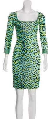 Just Cavalli Jersey Knee-Length Dress