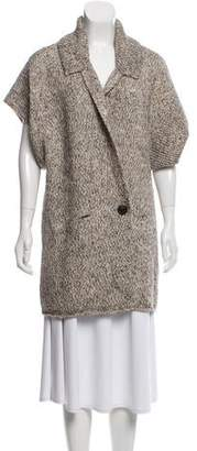 By Malene Birger Double-Breasted Cardigan Sweater