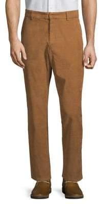 Black & Brown Black Brown Straight Corduroy Pants