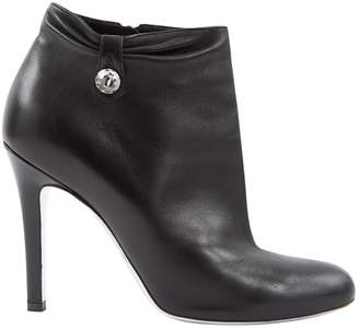 Azzaro Black Leather Boots