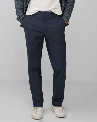 Express Classic Cotton Twill Dress Pant