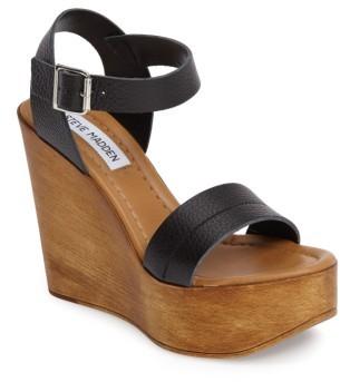 Women's Steve Madden Belma Wedge Sandal $99.95 thestylecure.com