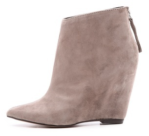 Dolce Vita Beryl Suede Wedge Booties