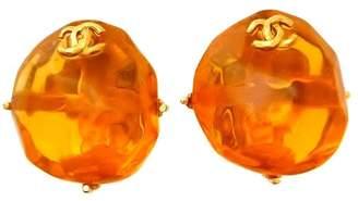 Chanel Plastic Earring