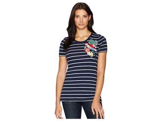 Tommy Bahama Parrot Trap Embroidered Tee