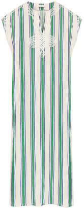 Tory Burch AWNING STRIPE CAFTAN