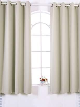 Elegant Home Fashions Tripoli Premium Insulated Grommet Window Panels (Set of 2)