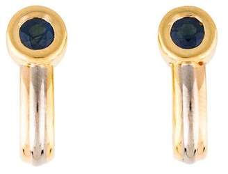 Cartier Sapphire Trinity Earrings