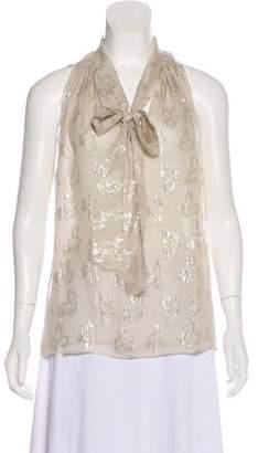 Stella McCartney Silk Crepe Top