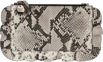 RED Valentino Animal Print Shoulder Bag