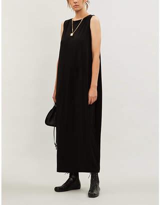 Issey Miyake Scoop-neck sleeveless stretch-jersey slip dress