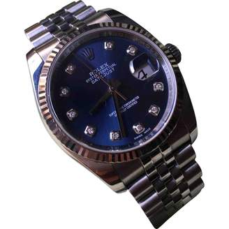 Rolex Datejust 36mm Anthracite gold and steel Watches