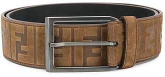Fendi logo printed belt