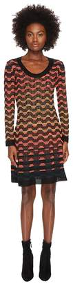 M Missoni Greek Open Knit Dress Women's Dress