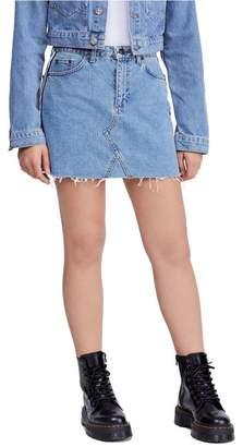216e7732c1 BDG Urban Outfitters Side Stripe Denim Miniskirt