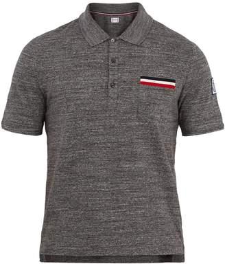 Moncler Gamme Bleu Patch-pocket cotton polo shirt