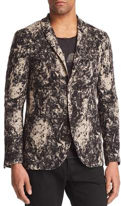 John Varvatos Collection Velvet Burnout Regular Fit Blazer