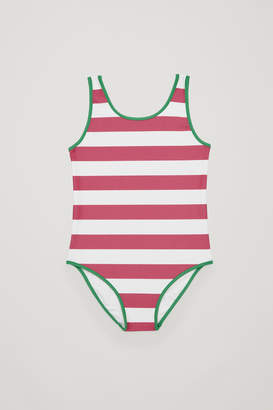Cos STRIPED SWIMSUIT