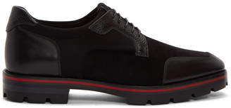 Christian Louboutin Black Simon Derbys