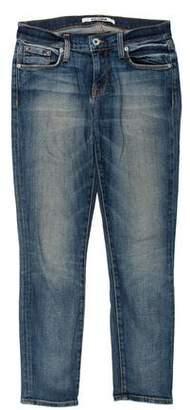 Baldwin Mid-Rise Straight-Leg Jeans