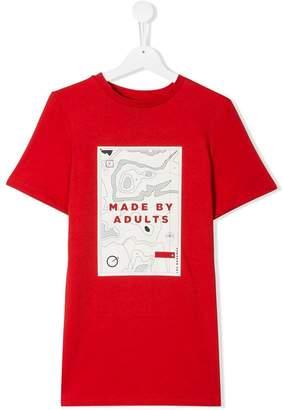 Les Bohemiens Kids TEEN graphic print T-shirt