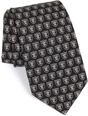 Vineyard Vines Oakland Raiders - NFL Woven Silk Tie
