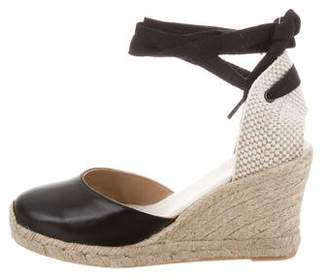 Soludos Leather Wedge Pumps w/ Tags