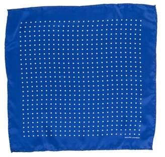 Ralph Lauren Black Label Polka Dot Silk Pocket Square