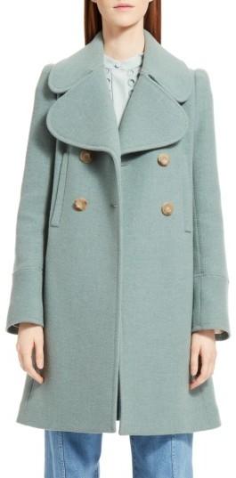 Chloé Women's Chloe Iconic Wool Blend Coat
