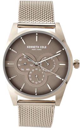 Kenneth Cole New York KC15205002 Light Gold-Tone & Grey Watch