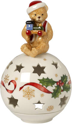 Villeroy & Boch Christmas Light Decolight: Ornament with Teddy Bear