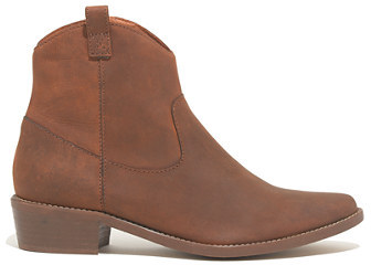 Madewell The Barnwood Boot in Distressed Leather