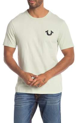 True Religion Metallic Branded Tee