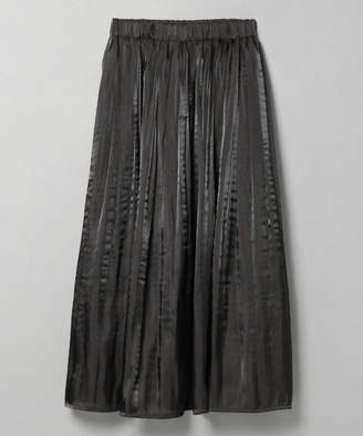 JEANASiS (ジーナシス) - シャイニーケシプリーツロングスカート【レッド、グリーンのみ特別価格】
