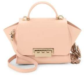 Zac Posen Eartha Leather Butterfly Crossbody Bag