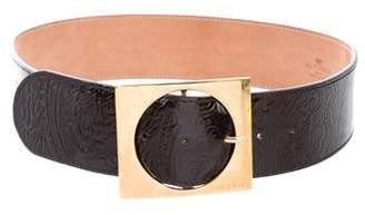 Etro Embossed Waist Belt