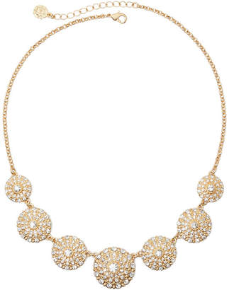 MONET JEWELRY Monet Gold-Tone Crystal Collar Necklace