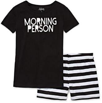 City Streets 2-pc. Shorts Pajama Set Girls