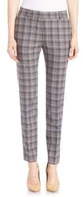 Peserico Plaid Ankle Pants