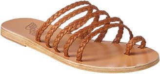 Ancient Greek Sandals Niki Braids Leather Sandal