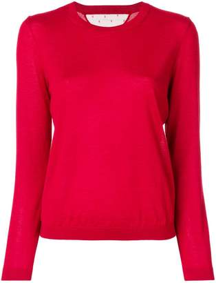 RED Valentino round neck sweater