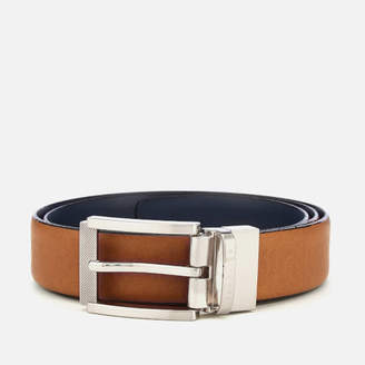 Ted Baker Men's Reva Reversible Textured Belt - Tan