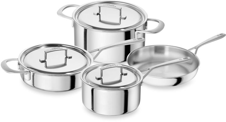 Zwilling Sensation 7-Piece Stainless Steel Cookware Set