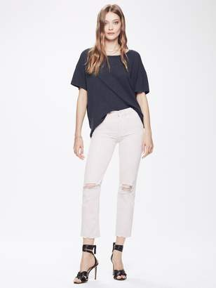 Mother High Waisted Rascal Ankle - The Soft Pink