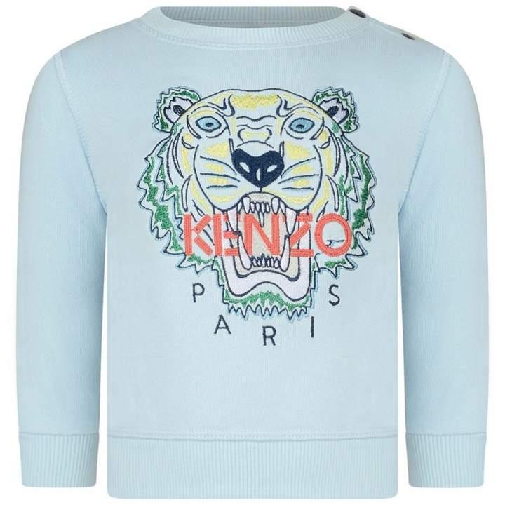 KidsBaby Boys Blue Tiger Sweater